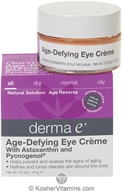 Derma E Age-Defying Eye Creme with Astazanthin & Pycnogenol 0.5 OZ