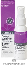 Derma E Deep Wrinkle Reverse Serum with Peptides Plus 2 OZ