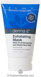 Derma E Exfoliating Mask with Fruit Enzymes & Dead Sea Salt 4 OZ