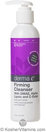 Derma E Firming Cleanser with DMAE, Alpha Lipoic and C-Ester 6 OZ