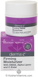 Derma E Firming Moisturizer with DMAE, Alpha Lipoic and C-Ester 2 OZ