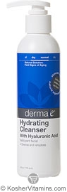 Derma E Hydrating Cleanser with Hyaluronic Acid 6 OZ