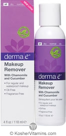 Derma E Makeup Remover with Chamomile & Cucumber 4 OZ
