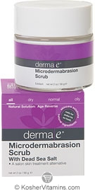 Derma E Microdermabrasion Scrub with Dead Sea Salt 2 OZ