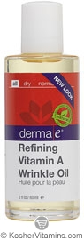 Derma E Refining Vitamin A Wrinkle Oil 2 OZ