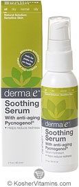 Derma E Soothing Serum with Anti-Aging Pycnogenol 2 OZ