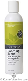 Derma E Soothing Toner with Anti-Aging Pycnogenol 6 OZ