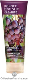 Desert Essence Shampoo Italian Red Grape 8 OZ