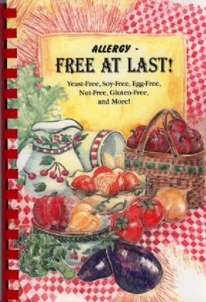 Morris Press Cookbooks Allergy Free At Last Yeast-Free, Soy-Free, Egg-Free, Nut-Free, Gluten-Free, and More! 1 Book