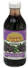 Dynamic Health Kosher Black Elderberry Liquid Extract 8 OZ.