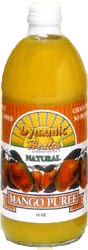 Dynamic Health Kosher Mango Puree 16 OZ.