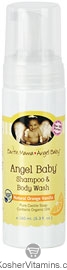 Earth Mama Angel Baby Angel Baby Shampoo & Body Wash Orange Vanilla 5.3 OZ