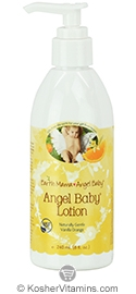 Earth Mama Angel Baby Angel Baby Lotion Vanilla Orange 8 OZ
