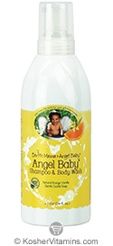 Earth Mama Angel Baby Angel Baby Shampoo & Body Wash Orange Vanilla Refill 34 OZ