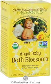 Earth Mama Angel Baby Organic Angel Baby Bath Blossoms 2.7 OZ