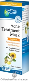 Earth's Care Acne Treatment Mask 2.5 OZ