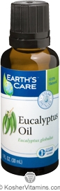 Earth's Care Eucalyptus Oil 1 OZ
