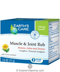 Earth's Care Muscle & Joint Rub 2.5 OZ