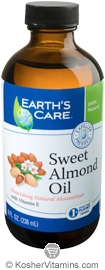 Earth's Care Sweet Almond Oil 8 OZ