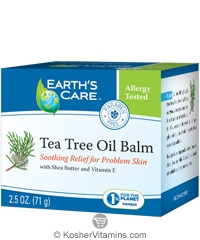 Earth's Care Tea Tree Oil Balm 2.5 OZ