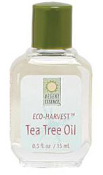 Desert Essence Eco-Harvest Tea Tree Oil 2 OZ