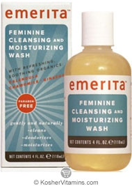Emerita Feminine Cleansing & Moisturizing Wash 4 OZ