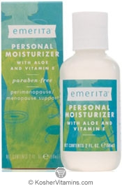 Emerita Feminine Personal Moisturizer with Aloe & Vitamin E 2 OZ