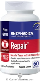 Enzymedica Kosher Repair 60 Enteric Coated capsules