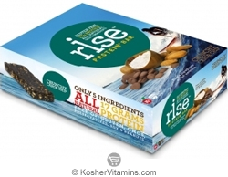 Rise Kosher Protein+ Bar Crunchy Carob Chip Dairy 12 Bars