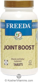 Freeda Kosher Joint Boost 100 Tablets