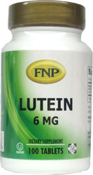 Freeda Kosher FNP Lutein 6 Mg 100 Tablets