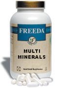 Freeda Kosher Multi-Minerals 250 TAB