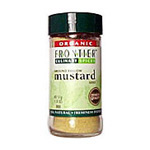 Frontier Kosher Whole Yellow Mustard Seed Organic 3.05 OZ