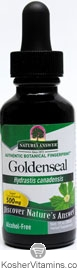 Natures Answer Kosher Goldenseal Root  50 Vegetable Capsules