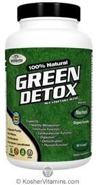 Integrated Supplements Kosher Green Detox Sea Vegetable Blend 90 Vcaps