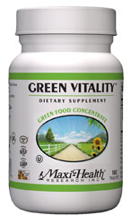 Maxi Health Kosher Green Vitality 180 Tablets