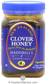 Haddrell's of Cambridge Kosher Clover Honey 1.1 LB