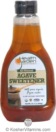 Health Garden Kosher All Natural Agave Nector Sweetener 23.5 OZ