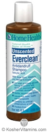 Home Health Everclean Antidandruff Shampoo Unscented  8 OZ