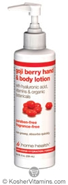 Home Health Goji Berry Hand & Body  Lotion 8 OZ