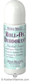 Home Health Herbal Magic Roll-On Deodorant Herbal 3 OZ