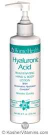 Home Health Hyaluronic Acid Rejuvenating Hand And Body Lotion 8 OZ