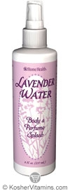 Home Health Lavender Water Body And Perfume Splash 8 OZ