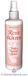 Home Health Rose Water Body And Perfume Splash 8 OZ
