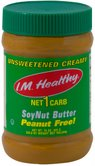 I.M. Healthy Kosher SoyNut Butter Unsweetened Creamy  15 OZ