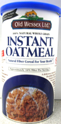 Old Wessex Kosher 100% Natural Instant Oatmeal 16 OZ
