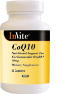 Invite Kosher Coenzyme Q-10 100mg 30 Licaps
