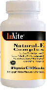 Invite Kosher Natural Vitamin E Complex 60 Vegicaps