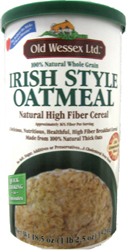 Old Wessex Kosher 100% Natural  Irish Style Oatmeal  18.5 OZ