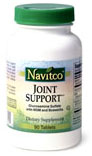 Navitco Kosher Joint Support (Glucosamine Sulfate with MSM and Boswellia)  180 Tablets